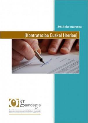 Kontratazioak Euskal Herrian